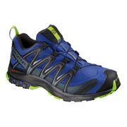 Chaussures Salomon XA PRO 3D GTX lilas noir vert