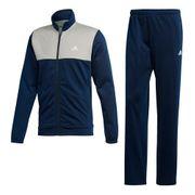 Survêtement 3 bandes adidas Back 2 Basics bleu marine gris