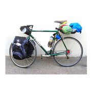 Porte-Bagage Avant Alu Noir - fixation pour sacoches + porte-bagage