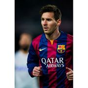 Maillot domicile manches longues FC Barcelone 2014/2015 Messi-M