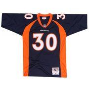 Maillot NFL Davis Denver Broncos 1998 Mitchell & Ness Legacy Retro Bleu pour Homme taille - XL
