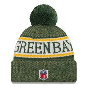 Bonnet avec pompon Green Bay Packers NFL sport knit doublé polaire