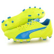 chaussure de football Puma evospeed Puma Evospeed 1.4 leather FG