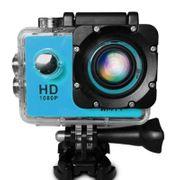Caméra de sport- HF40 Caméra de Sport avec de 30m, Boîtier Étanche, Generalplus 6624, de 2,0 pouces Écran LCD(Bleu)