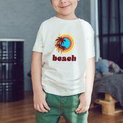 T-shirt garçon Beach