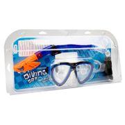 PACK MATERIEL DE PISCINE - PACK MATERIEL PLONGEE  Kit masque et tuba de plongée silicone adulte Dry top