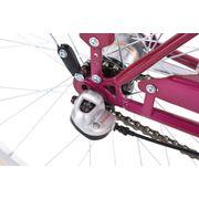 Vélo pour dame 28'' Belluno mûre 3 vitesses TC 48 cm KS Cycling