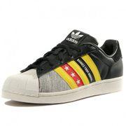 Chaussures Superstar Ro Noir Gris Femme Adidas