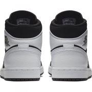 Chaussure Air Jordan 1 Mid Blanc blk pour homme Pointure - 44