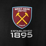 West Ham United FC officiel - Pull zippé à capuche thème football - polaire - garçon