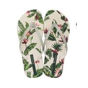Tongs Ipanema I love Tropical Beige et Vert