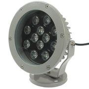 Projecteur luminaire HD12W / 960LM LED Projecteur Lampe, de Haute Qualité en fonte d'Aluminium Matériel de Lumière à LED(Blanc C