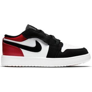 adulte JORDAN Chaussure de Basket Air jordan 1 low (PS) Noir red pour Enfant Pointure - 29.5
