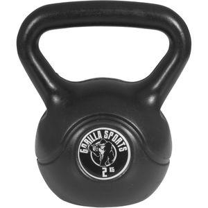 Musculation  GORILLA Gorilla Sports - Poids Kettlebell plastique 2kg à 20kg