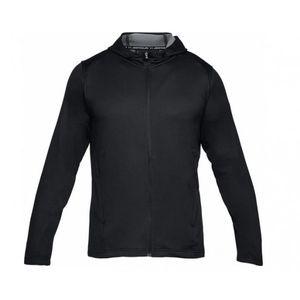 Mode- Lifestyle adulte UNDER ARMOUR Veste Zippé Under armour Tech Terry Hoodie Noir Pour Homme taille - XS