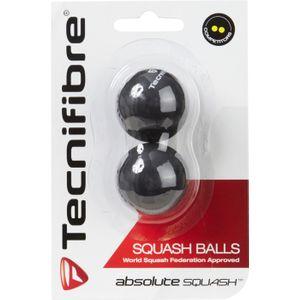 BALLE DE SQUASH   TECNIFIBRE BALLES SQUASH 2 POINTS