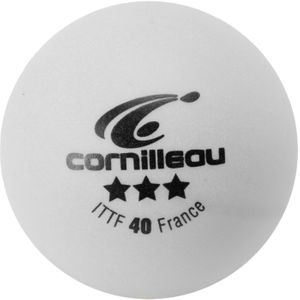 BALLES ITTF BLANCHES 3 ETOILES   CORNILLEAU BALLES ITTF BLANCHES 3 ETOILES