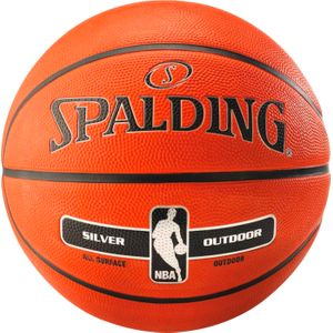 BALLON Basketball  SPALDING NBA SILVER OUTDOOR T7 17