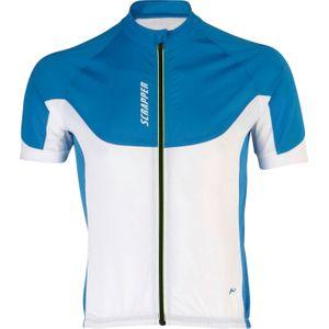 maillot cycle homme Vélo  SCRAPPER SCR SPORT TMC BLEU 8