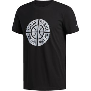 TEE SHIRT Basketball adulte ADIDAS LIVE BY BALL