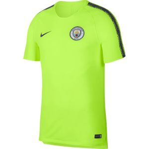 TOP  homme NIKE MAILLOT ENTRAINEMENT homme NIKE MAN CITY BRT SQD TOP SS 2018-2019