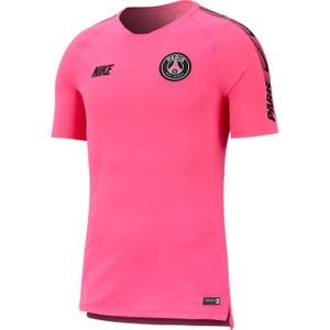 TOP  homme NIKE MAILLOT ENTRAINEMENT homme NIKE PSG BRT SQD TOP SS 2018-2019