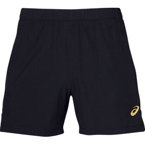 SHORT running homme ASICS COOL 2-N-1 5IN M, NOIR