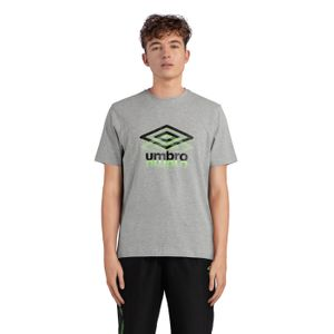 TEE SHIRT Training homme UMBRO GROOVE COTON TEE, GRIS