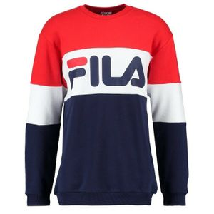 SWEAT SHIRT Training homme FILA Straight Blocked Crew Sweat