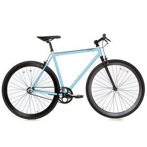 Cycle  MOMABIKES FIXIE BLEU
