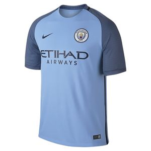 MAILLOT DOMICILE Football homme NIKE Maillot de football Nike Manchester City FC Stadium Home 2016/2017 - 776907-489