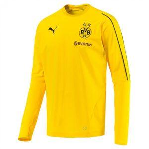 Football adulte PUMA Sweat d'entrainement Puma Borussia Dortmund BVB Training Sweat 18/19