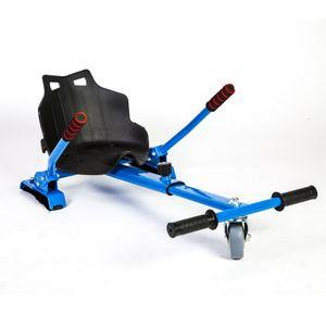 GLOOFE HoverKart -Complément KIT KART pour Hoverboard Bleu