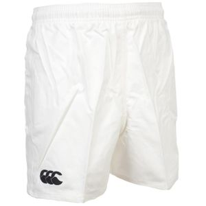 Rugby à XV adulte CANTERBURY Short de rugby Basic short rugby blanc