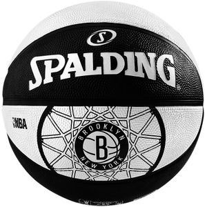 Basket ball  SPALDING Ballon Spalding Team Ball Brooklyn Nets