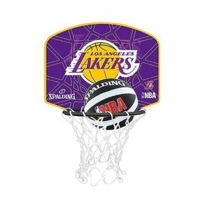 Basketball  SPALDING Spalding Mini Panier NBA Los Angeles Lakers 2016  77628Z