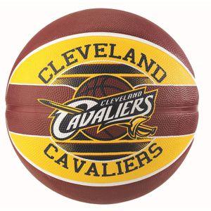 Basket ball  SPALDING Spalding Nba Team Cavaliers T7 Jaune Ballons Basketball