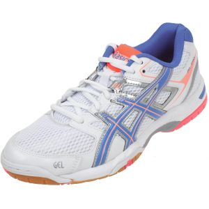Volley ball femme ASICS Chaussures volley ball Spike gel ii blanc