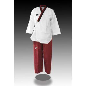 Taekwondo adulte Dorawon DORAWON, Dobok Poomsae brod? POOM GIRL, col Y poom