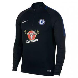 MAILLOT DOMICILE Football homme NIKE Veste de survêtement Nike Chelsea FC Dri-Fit Squad Drill - 905173-011
