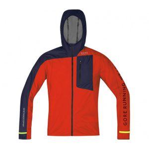 running homme GORE RUNNING WEAR® GORE RUNNING WEAR® - Fusion veste de running pour hommes (rouge/noir)