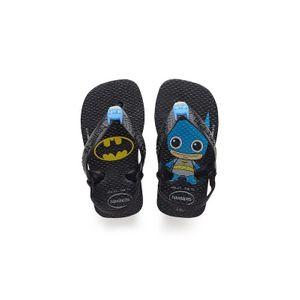 Outdoor enfant HAVAIANAS havaianas baby herois noir 4139475-0090 caoutchouc caoutchouc 21