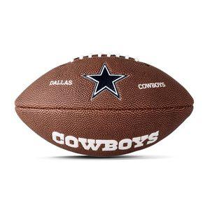Football US homme WILSON Mini ballon de Football Américain Wilson NFL team logo Dallas Cowboys