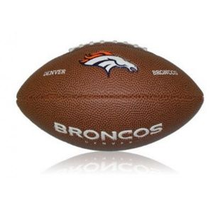 Football US  WILSON Mini ballon de Football Américain Wilson NFL team logo Denver Broncos