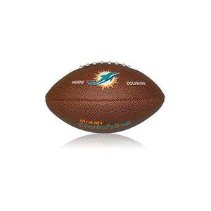 Football US  WILSON Mini Ballon de Football Américain Wilson NFL team logo Miami Dolphins