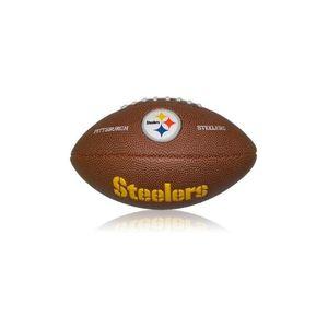 Football US  WILSON Mini ballon de Football Américain Wilson NFL team logo Pittsburgh Steelers