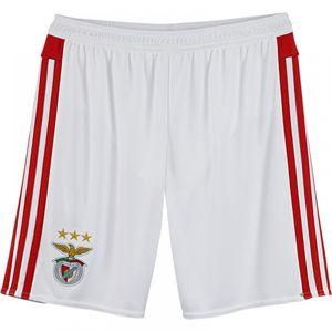 Football garçon ADIDAS 2015-2016 Benfica Adidas Home Shorts (White) - Kids