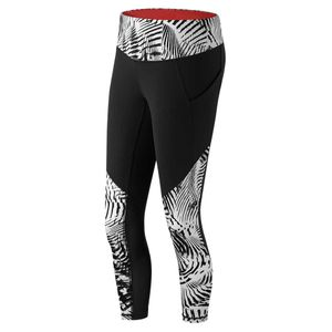 running femme NEW BALANCE New Balance Long Tight Stamped