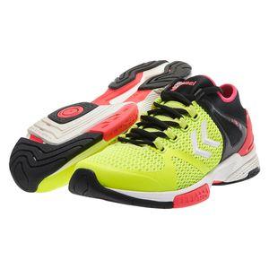 Handball homme HUMMEL Chaussures Hummel Aerocharge HB200 jaune/noir/rose