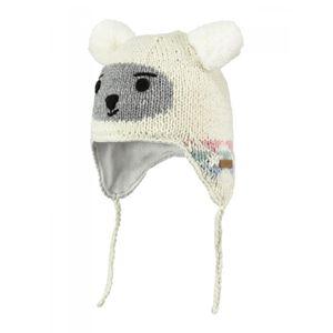 Ski Bébé BART'S BARTS-Bonnet jacquard blanc ivoire 2 pompons Bébé Fille du 1 au 3 ans Barts